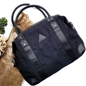H&M Canvas Duffle Bag NWT